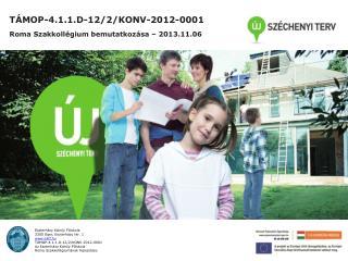 TÁMOP-4.1.1.D-12/2/KONV-2012-0001