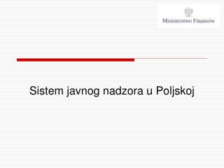 Sistem javnog nadzora u Poljskoj