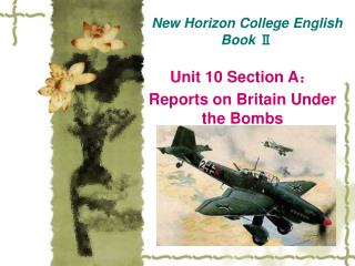 New Horizon College English Book  Ⅱ