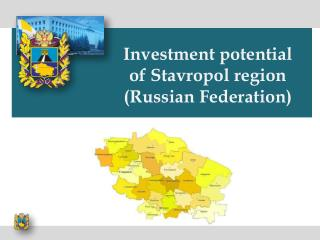 Investment potential of Stavropol region ( Russian Federation )