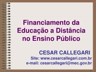 Site: cesarcallegari.br  e-mail: cesarcallegarimec.br