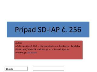 Prípad SD-IAP č. 256
