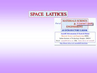SPACE  LATTICES