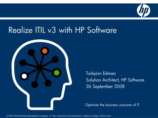 Realize ITIL v3 with HP Software