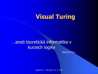 Visual Turing