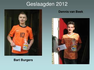 Geslaagden 2012