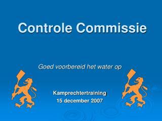 Controle Commissie