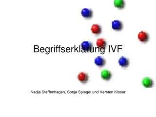Begriffserklärung IVF