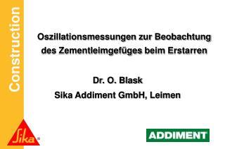Oszillationsmessungen zur Beobachtung  des Zementleimgef�ges  beim  Erstarren