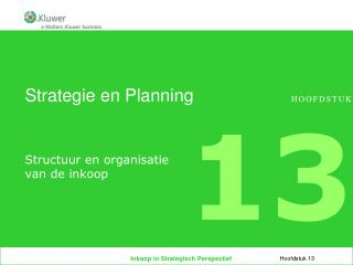 Strategie en Planning