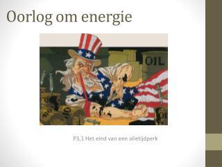 Oorlog om energie