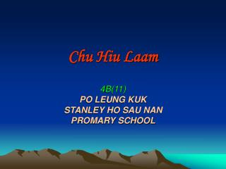 Chu Hiu Laam