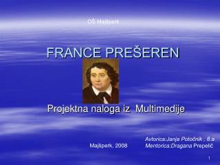 FRANCE PRE�EREN