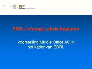 EDRL infodag Lokale besturen