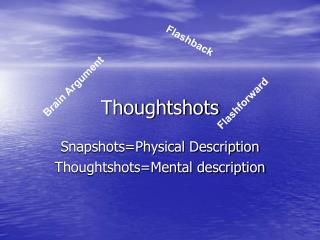 Thoughtshots