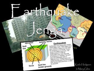 Earthquake Jenga