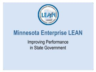 Minnesota Enterprise LEAN