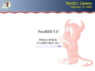 NordU / Usenix February 14, 2003