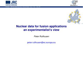 potential nuclear data needs