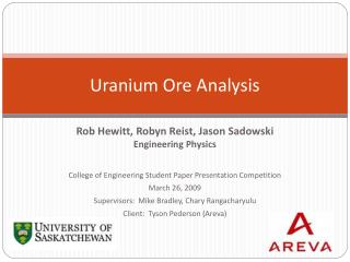 Uranium Ore Analysis