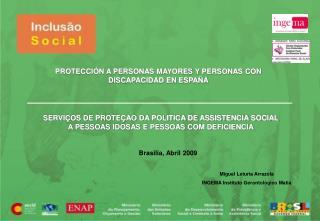 PROTECCIÓN A PERSONAS MAYORES Y PERSONAS CON DISCAPACIDAD EN ESPAÑA