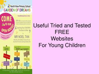 Useful Tried and Tested  FREE Websites For Young Children