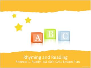 Rhyming and Reading