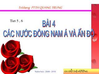 Tröôøng  PTTH QUANG TRUNG