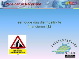 Pensioen in Nederland