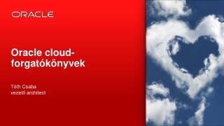 Oracle cloud-forgatókönyvek