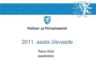 2011. aasta ülevaade