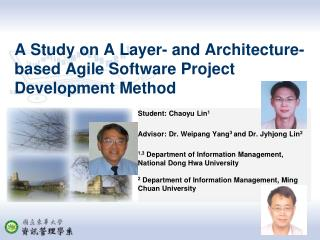 A Study on A Layer- and Architecture- based Agile Software Project Development Method