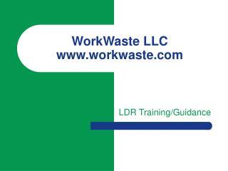 WorkWaste LLC workwaste