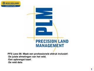 PFS Lees 06: Maak een professionele afdruk inclusief: De juiste afmetingen van het veld.