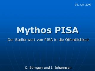 Mythos PISA