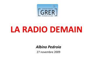 LA RADIO DEMAIN