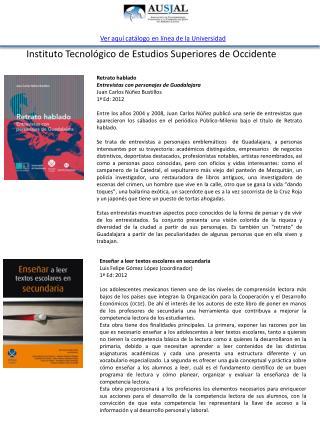 Enseñar a leer textos escolares en secundaria Luis Felipe Gómez López (coordinador) 1ª Ed: 2012
