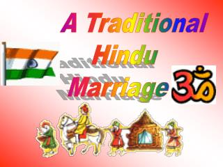 A Traditional  Hindu  Marriage