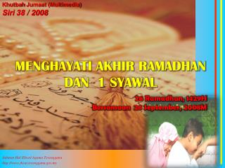 Jabatan Hal Ehwal Agama Terengganu jheat.terengganu.my