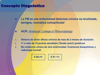 Concepto Diagnóstico