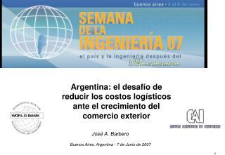 Buenos Aires, Argentina - 7 de Junio de 2007