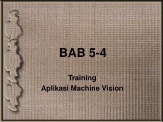 BAB 5-4