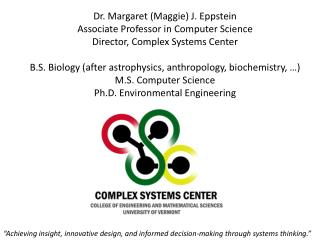 """Achieving insight, innovative design, and informed decision-making through systems thinking."""
