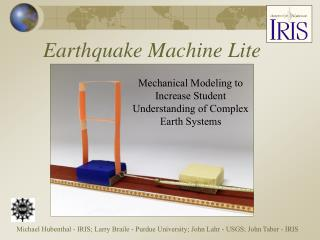 Earthquake Machine Lite