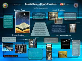 Cosmic Rays and Spark Chambers Robert Scott Lahr Denbigh Baptist Christian School