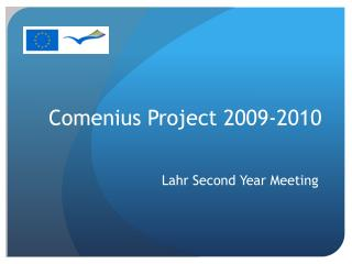 Comenius Project 2009-2010