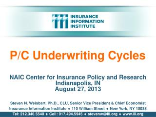 P/C Underwriting Cycles