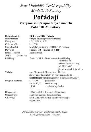 Datum konání: 24. května 2014   Sobota