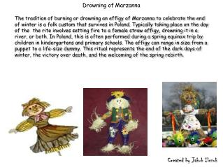 Drowning  of Marzanna