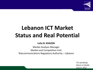 National e-Strategy for Lebanon